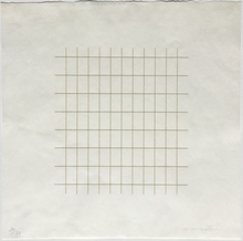 Agnes MARTIN - Print-Multiple - A clear day