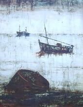 ARGÜELLES - Pintura - barcos