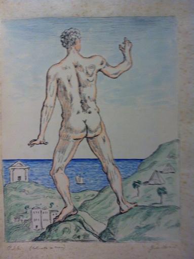 Giorgio DE CHIRICO - Stampa-Multiplo - Hercole