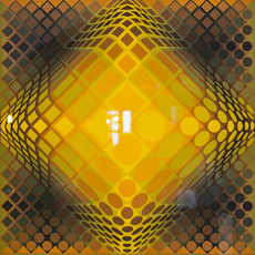 Victor VASARELY - Stampa Multiplo - Dell Yell