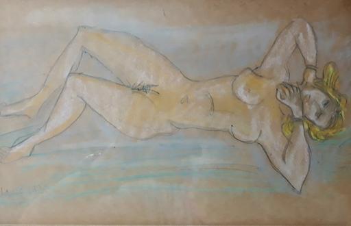 Marcel JANCO - Disegno Acquarello - Nude