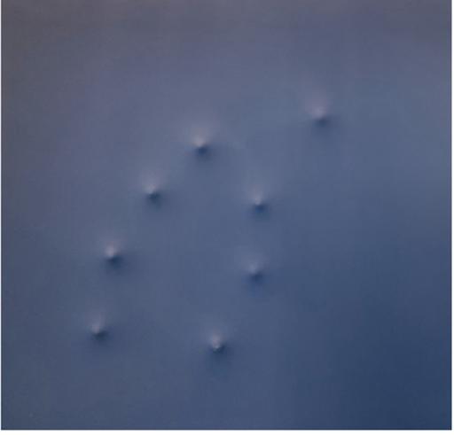 Angelo BRESCIANINI - Painting - N° 8 spari pistolo cal 12 Z08
