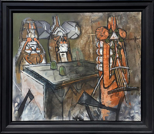 Roberto MATTA - Painting - Untitled