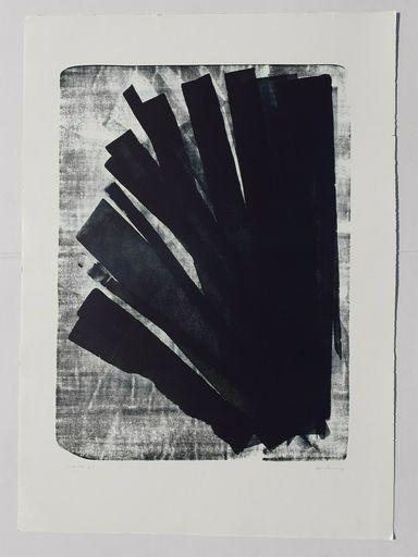 Hans HARTUNG - Stampa-Multiplo - L-58-1973