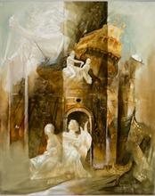 Roger SURAUD - Peinture - Neptune