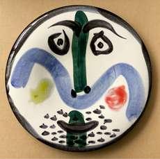 巴勃罗•毕加索 - 陶瓷  - Face No 130