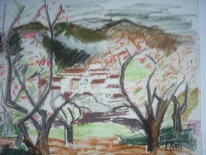 Lucie RIVEL - Dibujo Acuarela - PAYSAGES