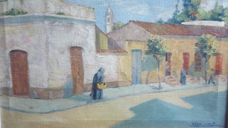 Luis MACAYA - Painting