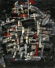 Moshé Elazar CASTEL - Pintura - Composition