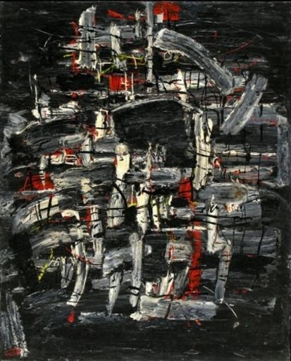 Moshé Elazar CASTEL - Painting - Composition