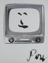 Nam June PAIK (1932-2006) - Smiling Face