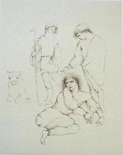 Leonor FINI - Print-Multiple - The Tragedy of Orpheus