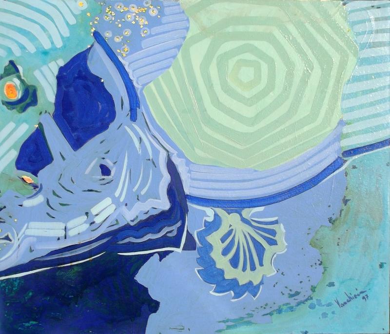 Carlo VANCHIERI - Painting - Pesce