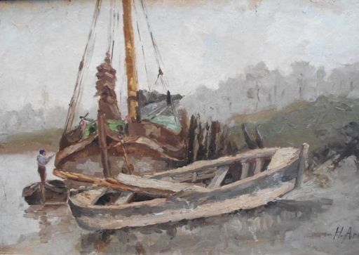 Henri ARDEN - Peinture - marine