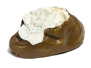 Claes Thure OLDENBURG, Baked Potato (from 7 Objects in a Box)