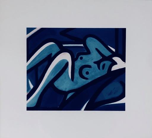 汤姆•韦瑟尔曼 - 版画 - Blue Nude