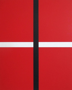 Daniel GÖTTIN - Painting - Untitled 1, 2020 (Abstract painting)