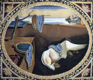 Salvador DALI - Tapisserie - Pwersistance of Memory Tapestry