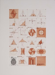 Giò POMODORO - 版画 - La geometria prattica