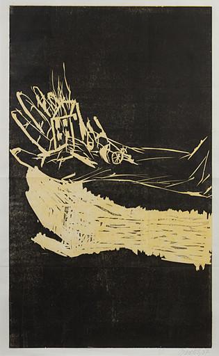 Georg BASELITZ - Grabado - The Hand ( with Hard back catalogue)