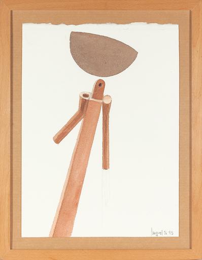 Miquel NAVARRO - Drawing-Watercolor - Alquerela I