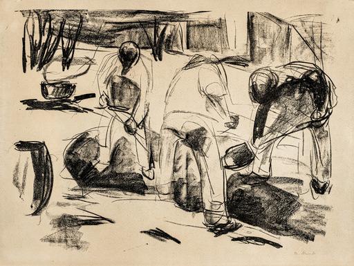 Edvard MUNCH - Print-Multiple - Streetworkers