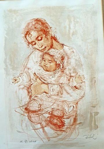 Edna HIBEL - Print-Multiple - Motherhood