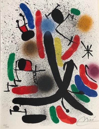 胡安·米罗 - 版画 - Joan Miró Litografo I