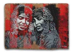 JEF AÉROSOL - Painting - Sisters