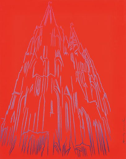 Andy WARHOL - Estampe-Multiple - Cologne Cathedral