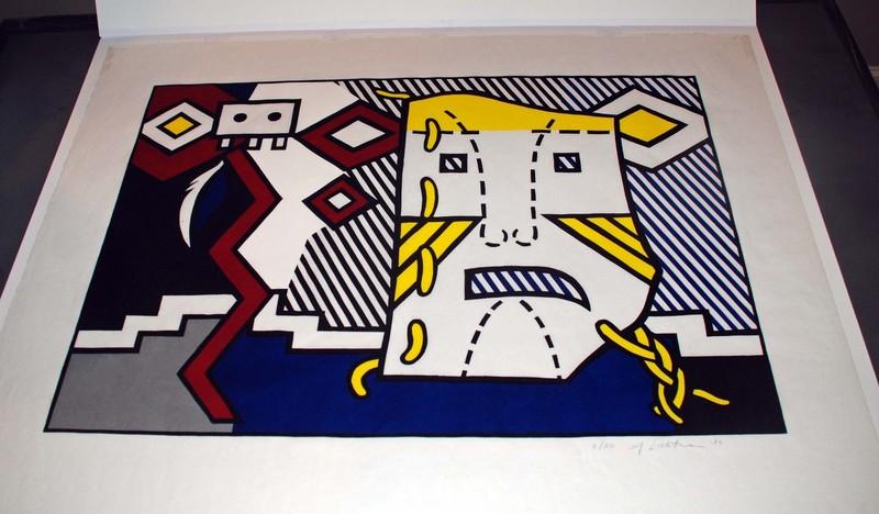 Roy LICHTENSTEIN - Stampa-Multiplo - American Indian Theme V