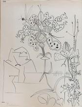"""巴勃罗•毕加索 - 版画 - """" Plantes Tropiquales """""""