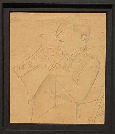 Joan MIRO - Dibujo Acuarela - EL LIBERAL