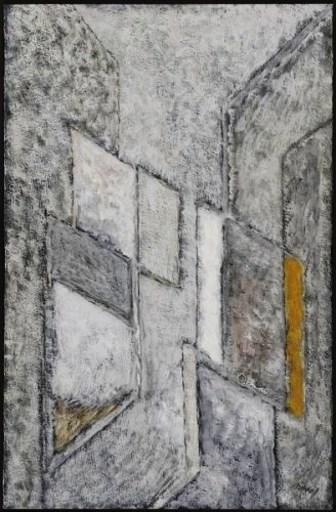 "Augusto BARROS FERREIRA - Dibujo Acuarela - ""Composition"""