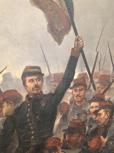 Jules ROUFFET - Painting - La bataille d'Inkermann