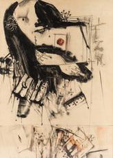 Vladimir Nikolaevich NEMUKHIN - Drawing-Watercolor - Jack of Diamonds
