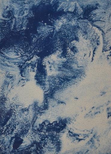 Joe GOODE - Stampa Multiplo - Ocean Blue Lithograph 23