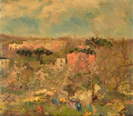Carlo BRANCACCIO - Painting - Paesaggio Ischia