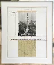 CHRISTO - Print-Multiple - Wrapped Columbus Monument Barcelona