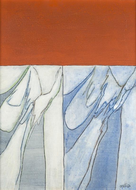 Achille PERILLI - Gemälde - Che emozione il colore
