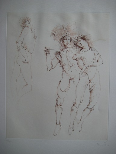 Leonor FINI - Estampe-Multiple - GRAVURE SIGNÉE AU CRAYON NUM/150 HANDSIGNED NUMB ETCHING