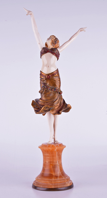 Paul PHILIPPE - Sculpture-Volume - Dancer