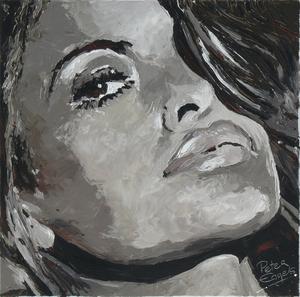 Peter ENGELS - Painting - Eva Mendes