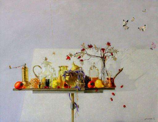 Tatjana PALCUKA - Painting - Sunny Still Life    (Cat N° 5502)
