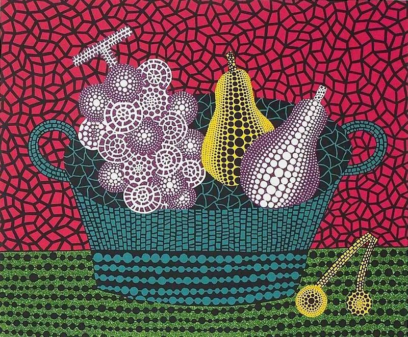 Yayoi KUSAMA - Print-Multiple - Panier de Fruits (II)