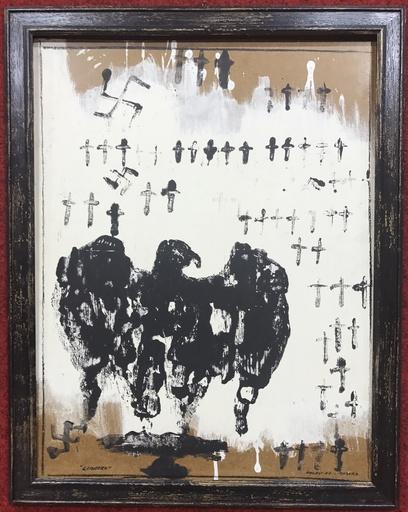 Franco ANGELI - Pintura - Cimitero