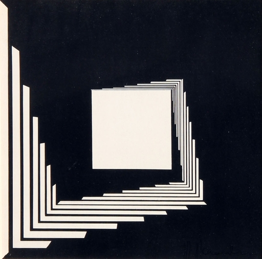 Marcello MORANDINI - Print-Multiple - Composizione 56/B