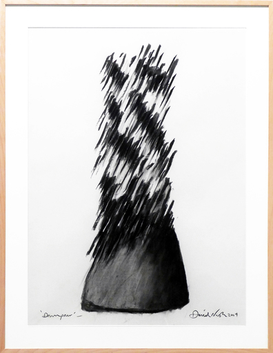David NASH - Dessin-Aquarelle - Downpour