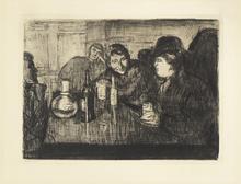 Edvard MUNCH (1863-1944) - Kristiania Bohemians I