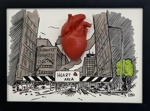 COBO - Pittura - Heart Area